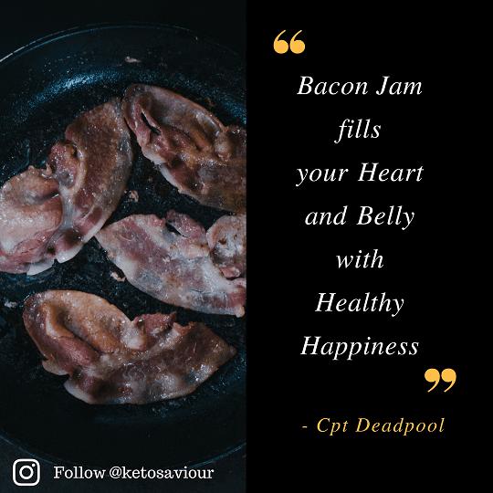 keto bacon jam lchf healthy fitness