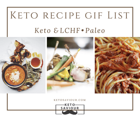 ketogenic recipes low carb food gifs guide